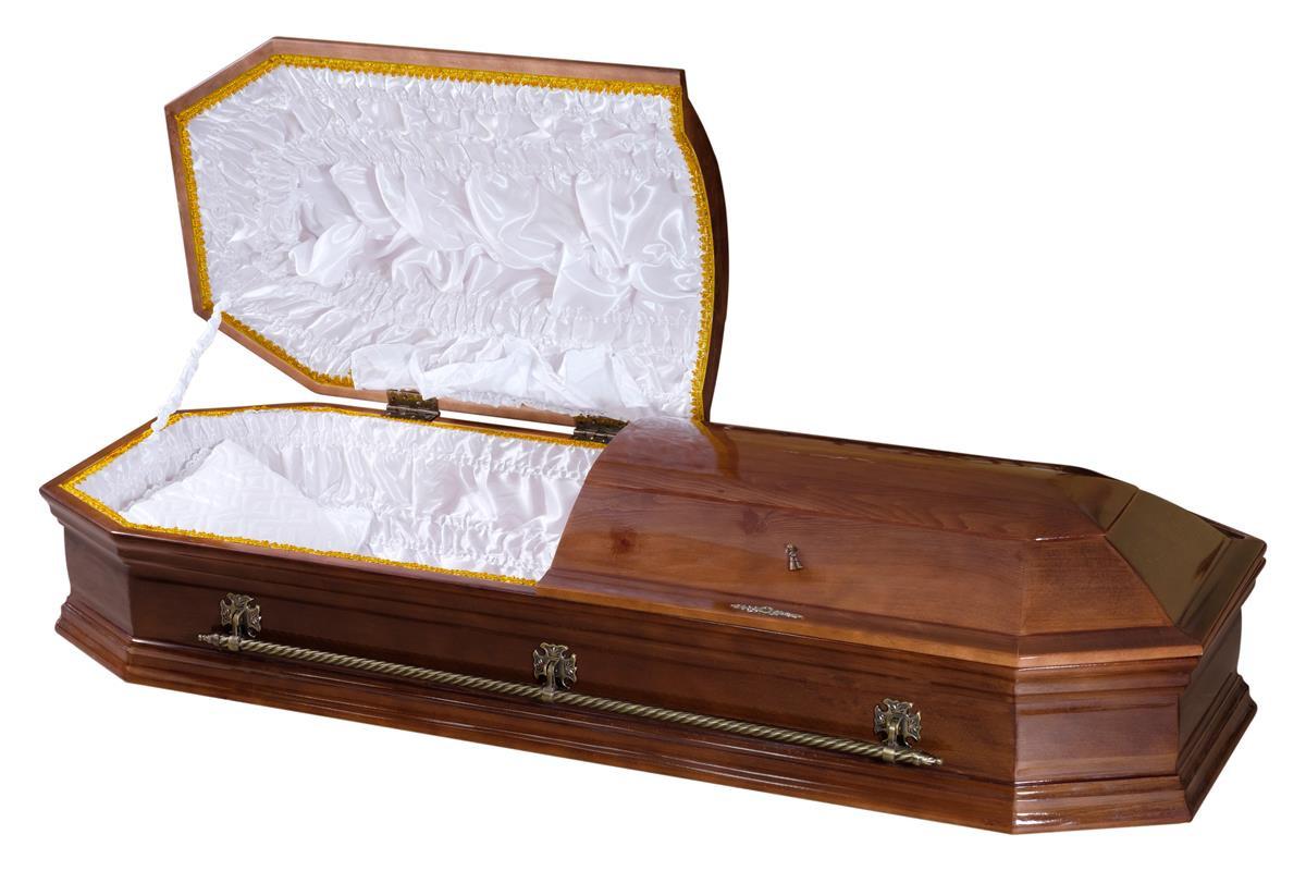 Саркофаг Восьмигранный двухкрышечный