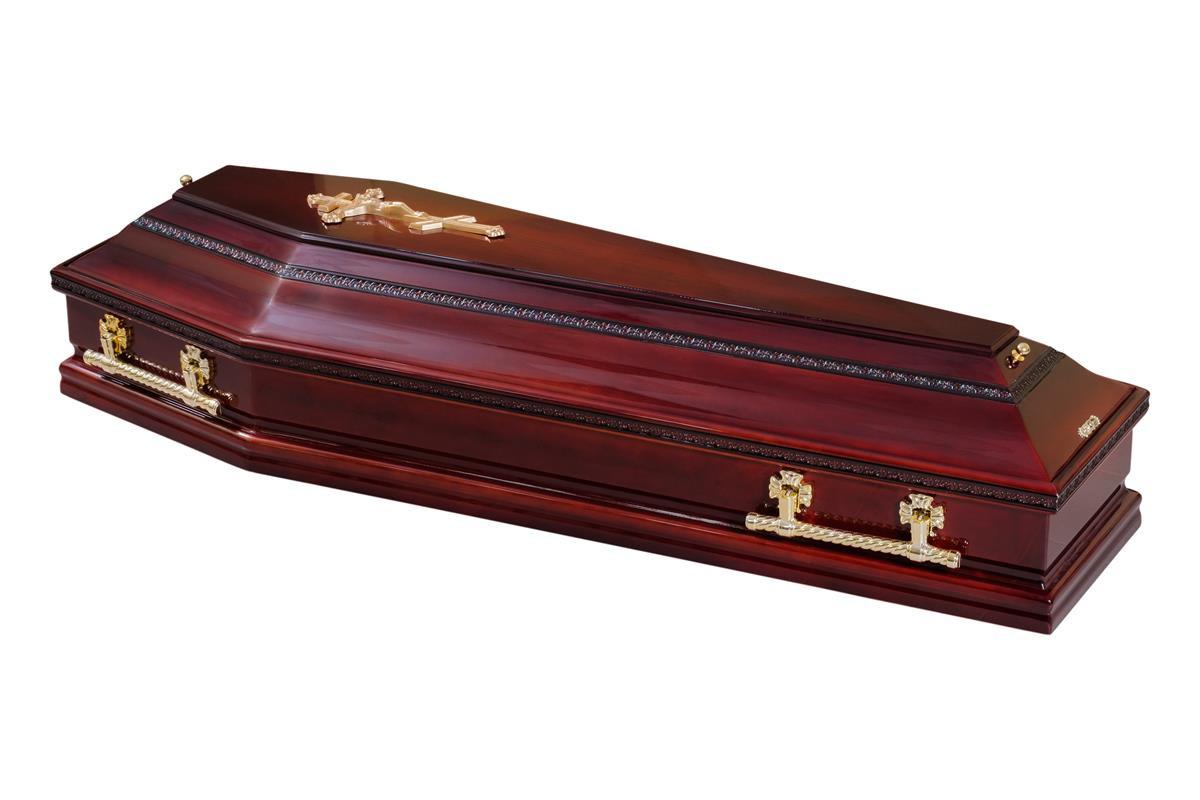 Саркофаг Шестигранный однокрышечный